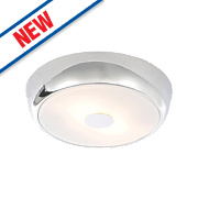 Spa Orion Bathroom Ceiling Light Large Chrome G9 28W