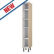 Oak Kitchen Tall Larder Cabinet 300 x 570 x 2115mm