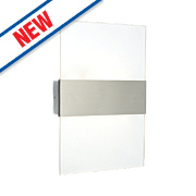 Polar Brushed S/Steel LED Wall Light 2 x 1.5W