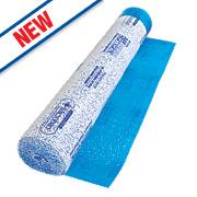 Roberts Airguard Laminate & Wood Floor Foam Underlay Red 9.2m²