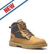 Scruffs Twister Safety Boots Tan / Black Size 8