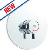 Rada V10 Concealed Shower Valve Fixed Built-In Chrome
