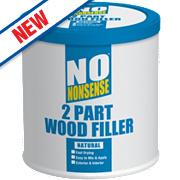 No Nonsense 2-Part Wood Filler Natural 1.4kg