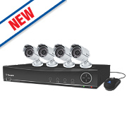 Swann SWDVK-841004F DVR8-4100 8-Channel 960H Digital Video Recorder & 4 x PRO-742 Cameras