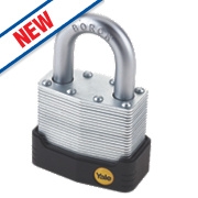 Yale Protector Laminated Steel Padlock 55mm