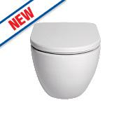 St Ives Wall-Hung Toilet Dual Flush 4/6Ltr