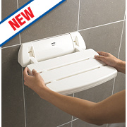 Mira Shower Seat White 355mm