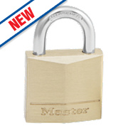 Master Lock Solid Brass Padlock 30mm