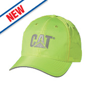 CAT Trademark Hi-Vis Cap Yellow