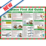 Workplace First Aid Guide Poster 420 x 594mm