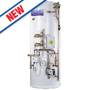 RM Cylinders Pre-Plumb Unvented Indirect Twin Zone Cylinder 210Ltr