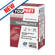 Toupret Touprelith F Exterior Masonry Repair Filler 1.5kg