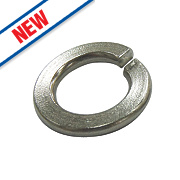 Split Ring Washers BZP M8 Pack of 100