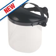 Premium Face Shield & Browguard Clear