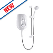 Mira Vie Electric Shower White / Chrome 8.5kW