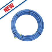 MDPE Medium Density Blue Service Pipe 32mm x 50m