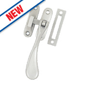 Carlisle Brass Window Casement Fastenings Satin Chrome 125mm