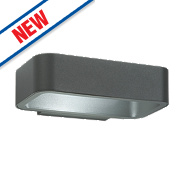 Saxby Radial Grey LED Wall Light 5.5W