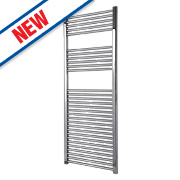 Flomasta Flat Towel Radiator Chrome 1500 x 600mm 519W 1771Btu