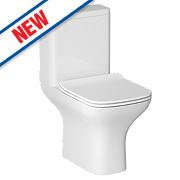 Madrid Close Coupled Toilet Dual Flush 4/6Ltr