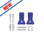 Rawlplug 67-488 Adjustable WC or Bidet Fixing Kit