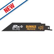 DeWalt DT2407L-QZ Extreme Reciprocating Saw Blades 152mm Pack of 5