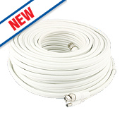 Swann BNC Extension Cable White 15m