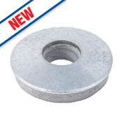Easyfix Galvanised Steel EPDM Washers A2 16mm Pack of 100