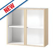 Oak Kitchen Wall Cabinet 800 x 282 x 738mm