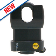 Yale Closed Shackle Weatherproof Padlock Steel 61mm