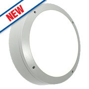 Saxby Luik LED Bulkhead Grey 18W