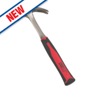 Forge Steel One-Piece Claw Hammer 16oz (0.45kg)
