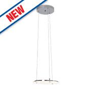 Riverside LED Pendant Light Chrome 29W