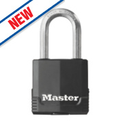 Master Lock Laminated Weatherproof Padlock Steel 45mm