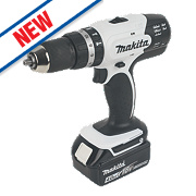 Makita DHP453SMWX 18V 4.0Ah Li-Ion Cordless Combi Drill & 101 Accessories