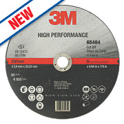 3M High Performance Metal Cutting Disc 230 x 1 x 22.23mm Bore