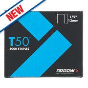 Arrow Heavy Duty Staples Galvanised 12 x 10mm 5000 Pack