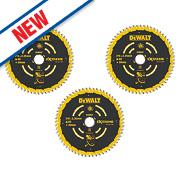DeWalt DT10396-QZ Extreme TCT Circular Saw Blades 216 x 30mm Pack of 3