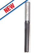 """Trend 2-Flute Straight Router Cutter ½"""" Shank 12.7 x 63mm"""