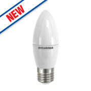 Sylvania ToLEDo Candle Frosted LED Lamp ES 470Lm 7W