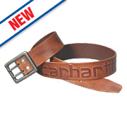 "Carhartt Logo Belt Brown 34-36"" W"
