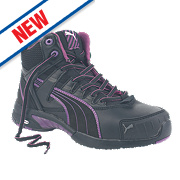 Puma Ladies Mid Stepper Safety Boots Black Size 7