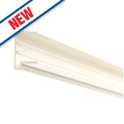 Corotherm PVC Sheet End Cap White 16 x 2100mm