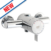 Rada V12 Shower Valve Fixed Exposed Chrome