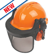 Centurion Concept Vented Forestry Helmet Kit Orange