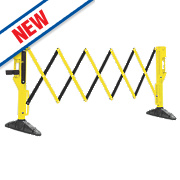 JSP Xpanda Titan Barrier Yellow & Black 3 x 1m