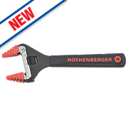 """Rothenberger Adjustable Wide-Jaw Wrench 10"""""""