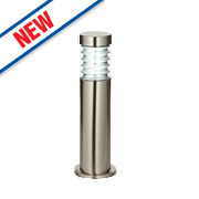 Saxby Equinox 23W Brushed Stainless Steel Post Light