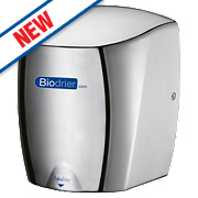 Biodrier Biolite High Speed Low Energy Hand Dryer Chrome 0.65-0.9kW