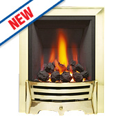 Be Modern Mayfair Traditional Gas Fire Brass Inset Min. 2.3kW Max. 6.3kW